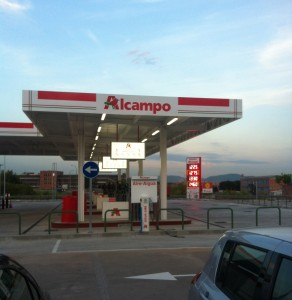 Benzinera Alcampo
