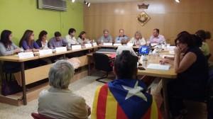 Ple Extraordinari de suport a la consulta del 9N. Sant Quirze del Vallès