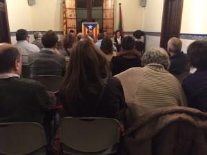 Imatge d'arxiu de l'assemblea de Junts del gener de 2015